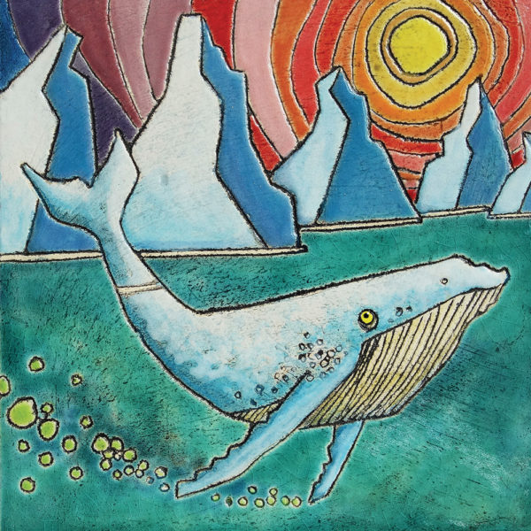 Arctic Whale Illustration