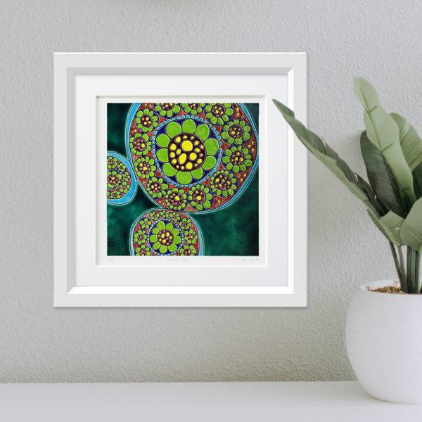 Boras Flowers framed