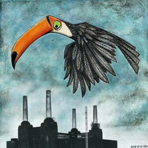 Toucan over Battersea