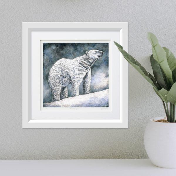 Polar Bear framed