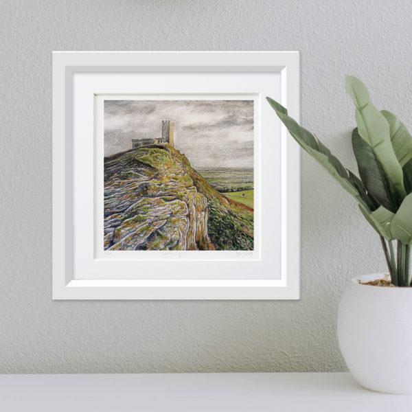 Brentor framed