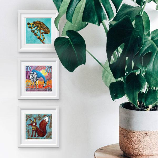 Tree Creeper framed