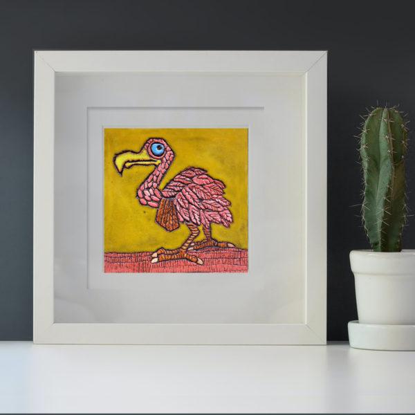 Dodo framed